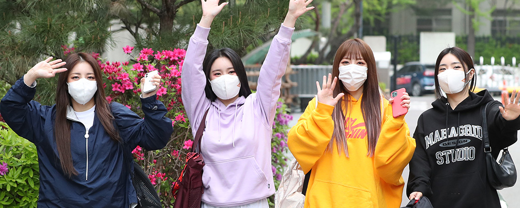 [Photo Update] 21.04.12 Brave Girls Arriving for Immortal Songs 2 Recording