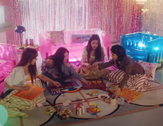 """Lotte x Brave Girls """"Red Sun"""" Promotional Song/Music Video"""