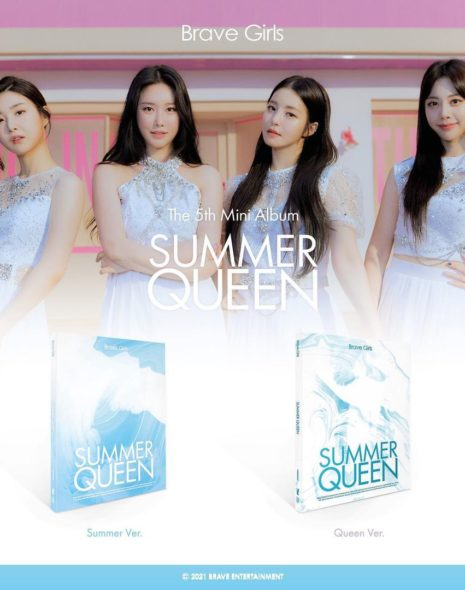 Brave Girls 'Summer Queen' Streaming & Purchase Links